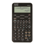 Sharp ELW531T calculator Desktop Display Black