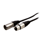 "Comprehensive XLR/XLR, 0.9m audio cable 35.4"" (0.9 m) XLR (3-pin) Black"