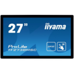 "iiyama ProLite TF2738MSC-B1 touch screen monitor 68.6 cm (27"") 1920 x 1080 pixels Black Multi-touch"