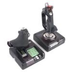 Logitech X52 Pro Flight Control System Flight Sim