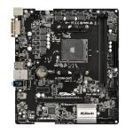 Asrock A320M-DGS, AMD A320, AM4, Micro ATX, 2 DDR4, DVI, M.2, RAID