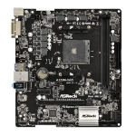 Asrock A320M-DGS AMD Socket AM4 Ryzen Micro ATX DDR4 DVI-D Ultra M.2 USB 3.1 Motherboard
