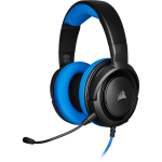 Corsair HS35 Headset Head-band Black,Blue