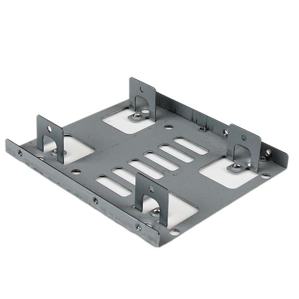 "StarTech.com Dual 2.5"" to 3.5"" HDD Bracket for SATA Hard Drives - 2 Drive 2.5"" to 3.5"" Bracket for Mounting Bay"