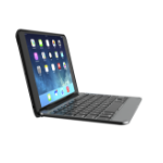 ZAGG IM4ZF2-BBF toetsenbord voor mobiel apparaat AZERTY Zwart, Zilver Bluetooth