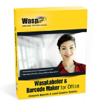 Wasp WaspLabeler & Barcode Maker for Office bar coding software