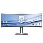 Philips 498P9/00 PC Flachbildschirm 124,5 cm (49 Zoll) 5120 x 1440 Pixel LCD Schwarz
