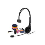 Doro HS125 Head-band Monaural Wired Black mobile headset