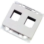 Lanview LVN126160 wall plate/switch cover White