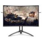 """AOC AG323QCX2 computer monitor 31.5"""" 2560 x 1440 pixels 2K Ultra HD LED Black, Red"""