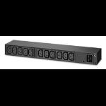 APC AP6020A power distribution unit (PDU) 13 AC outlet(s) 0U/1U Black