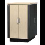 APC NetShelter CX 24U Geluiddempende en geventileerde 'Server Room in a Box'