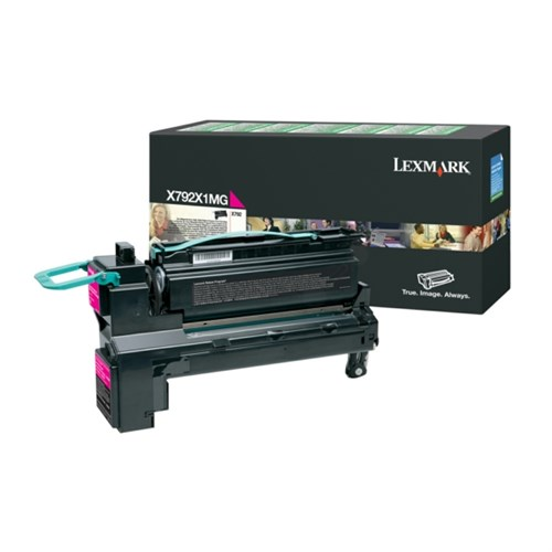 Lexmark X792X1YG Toner Yellow Extra High Yield Return Programme Print Cartridge 20K pages X792X1MG