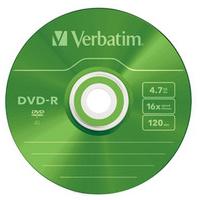 Verbatim DVD-R Colour 4.7GB DVD-R 5pc(s)