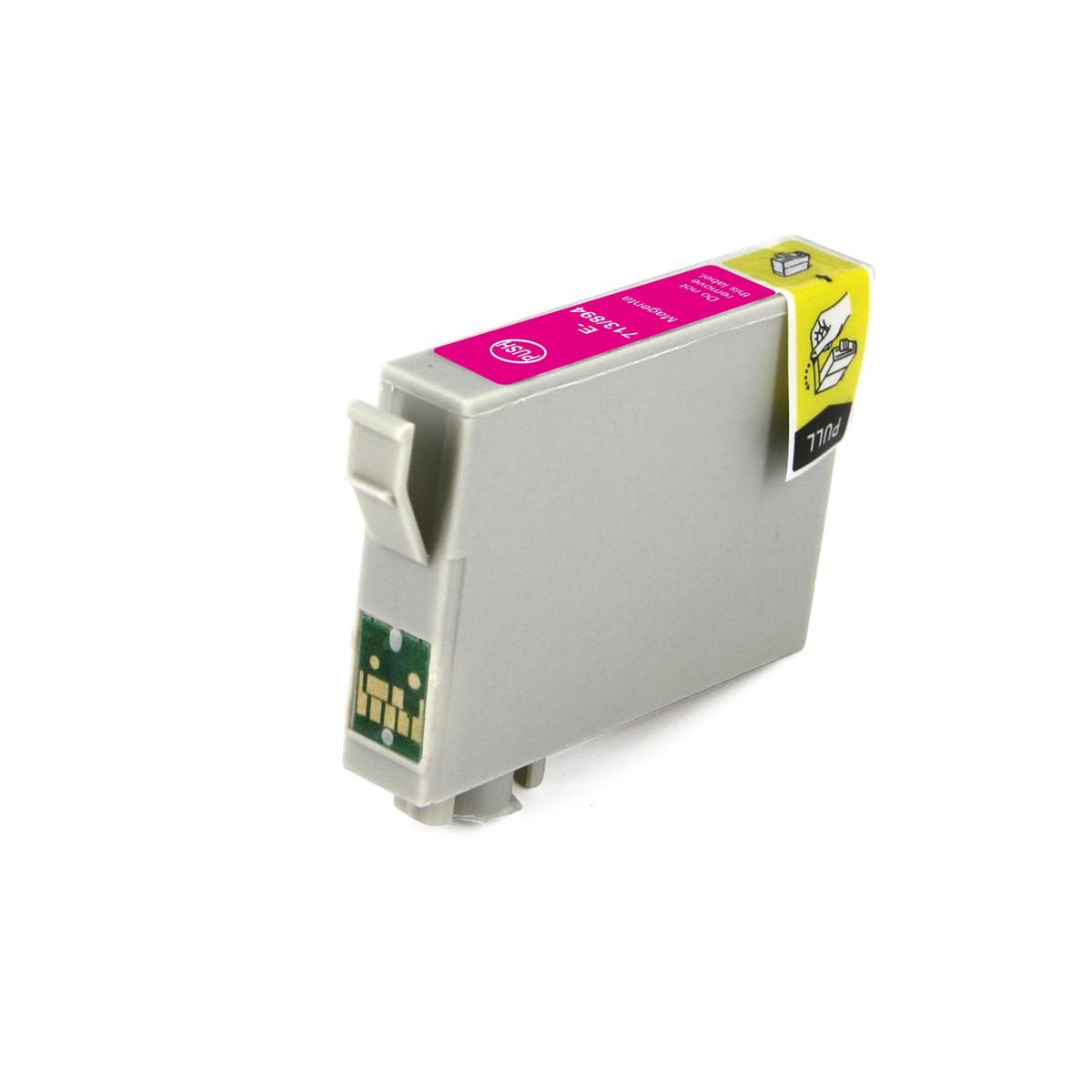 Compatible Epson T0713 Cheetah Magenta Ink Cartridge