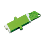 Digitus ASSMANN E2000 E-2000 (APC) 1pc(s) Green fiber optic adapter