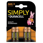 Duracell Simply AAA Alkaline 1.5V non-rechargeable batteryZZZZZ], 81235219