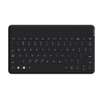 Logitech Keys-To-Go Bluetooth English Black mobile device keyboard