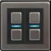 Lightwave L22EU regulador Integrado Regulador de intensidad Acero inoxidable