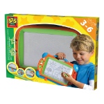 SES Creative Magnetic Drawing Board, Unisex, Ages Three to Six Years, Multi-colour (14646)
