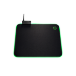 HP 400 Black,Green Gaming mouse pad