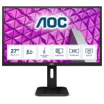 "AOC P1 Q27P1 computer monitor 68,6 cm (27"") 2560 x 1440 Pixels Quad HD LED Zwart"