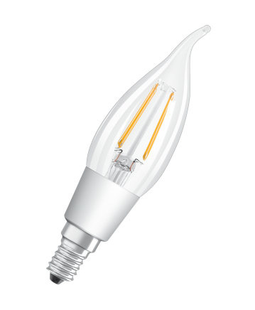 Osram Retrofit CL BA 4.5W E14 A++ Warm white LED bulb