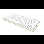Logitech Wired Keyboard Lightning White mobile device keyboard