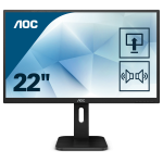 AOC Pro-line 22P1D LED display 54,6 cm (21.5 Zoll) 1920 x 1080 Pixel Full HD Schwarz