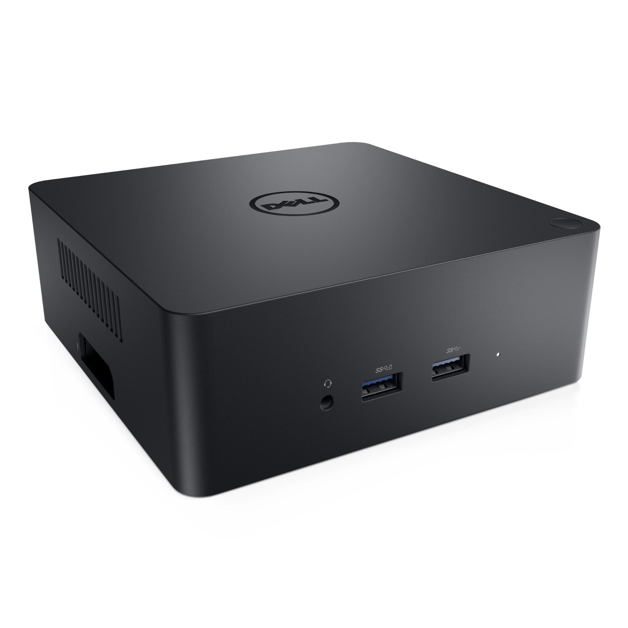 DELL TB18DC Wired USB 3.0 (3.1 Gen 1) Type-B Black