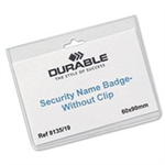 Durable 813519 Badge PVC 20pc(s) identity badge/badge holder