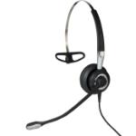 Jabra Biz 2400 II QD Mono NC 3-in-1 Wideband Balanced Headset Neckband, oorhaak, Hoofdband Zwart, Zilver