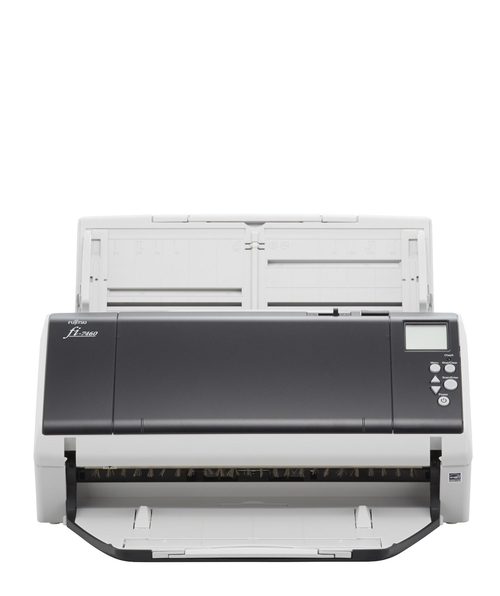 Fujitsu fi-7460 ADF + Manual feed scanner 600 x 600 DPI A3 Grey, White