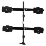 "Amer AMR4P32 32"" Bolt-through Black flat panel desk mount"