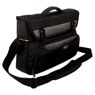 "Targus City Gear notebook case 35.6 cm (14"") Messenger case Black"