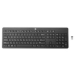 HP Link-5 keyboard RF Wireless Portuguese Black