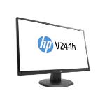 "HP 23.8IN V244H MONITOR LED display 60.5 cm (23.8"") Full HD Flat Matt Black"