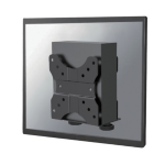 Newstar NM-TC100BLACK Monitor stand-mounted CPU holder Black CPU holderZZZZZ], NM-TC100BLACK