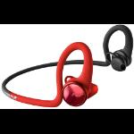 Plantronics BackBeat Fit 2100 Auriculares Dentro de oído, Banda para cuello Rojo