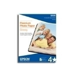 "Epson Premium Glossy Borderless 11 x 14"" 20 Sheets photo paper"