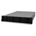 Synology RackStation RS2418RP+ C3538 Ethernet LAN Rack (2U) Black NAS