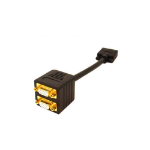 AddOn Networks VGA - 2x VGA Cable splitter Black