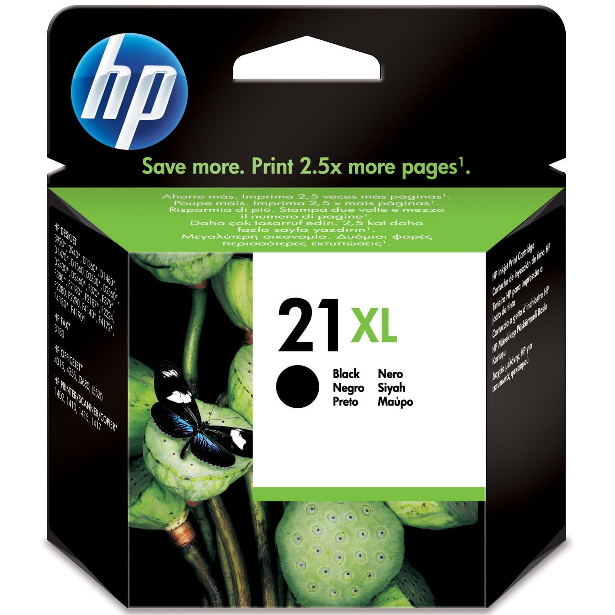 HP 21XL Original Negro 1 pieza(s)