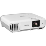 Epson EB-108 Ceiling-mounted projector 3700ANSI lumens 3LCD XGA (1024x768) Grey, White data projector
