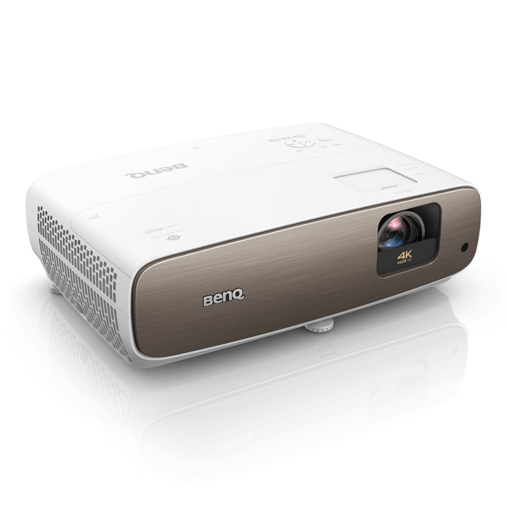 Benq W2700 data projector Standard throw projector 2000 ANSI lumens DLP 2160p (3840x2160) 3D Brown, White