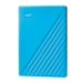 Western Digital My Passport disco duro externo 2000 GB Azul
