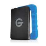 G-Technology G-DRIVE ev RaW external hard drive 1000 GB Black, Blue