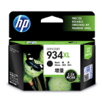 HP 934XL High Yield Black Original Ink Cartridge Zwart inktcartridge
