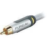 Belkin PureAV Silver Series Composite Video Cable 2.5m Silver composite video cable
