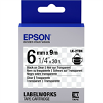 Epson C53S652004 (LK-2TBN) Ribbon, 6mm x 9m